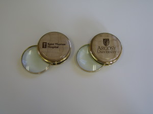 Magnifying Glass Paper Weights