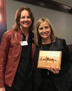 """This detailed drawing of the Nashville skyline has 5504 lines in it. We wanted it to be extra special since it was going to Nashville Mayor Megan Barry. We then lasered it into a beautiful piece of wood ready to hang. It is 8"""" x 10"""". $95"""